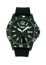 I by Invicta IBI10008-004 Men's Round Analog Date Black Silicone Watch