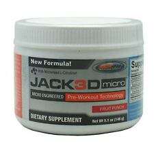 USP Labs JACKED MICRO Pre-Workout Fruit Punch 40 servings Jack3d NEW FLAVOR