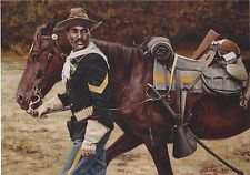 """""""Proud to Serve"""" Don Stivers Signed Limited Edition Print - Buffalo Soldiers"""