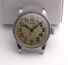Stainless Steel WWII Military IWC International Schaffhausen Wristwatch Project