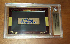 2011 Leaf Cut Signature Edition Men Nguyen & Scotty Nguyen Dual Autographed Card