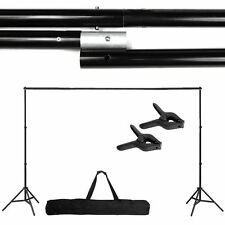 10Ft Adjustable Support Stand Photo Backdrop Crossbar Kit Photography FH