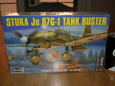 WW#2, GERMAN, STUKA Ju 87G-1 TANK BUSTER PLANE, PLASTIC MODEL KIT, SCALE 1:48