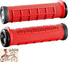 ODI ELITE PRO LOCK-ON RED BMX-MTB BICYCLE GRIPS
