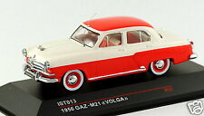 1/43 scale IST Models russian soviet GAZ M21 Volga sedan red beige MIB