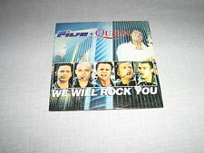QUEEN FIVE CDSEU WE WILL ROCK YOU