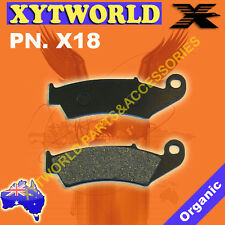 X18 Front Brake pads HONDA motor cycle bike road street