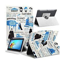 Housse Etui Motif MV03 Universel L pour Tablette Archos 101c Platinum