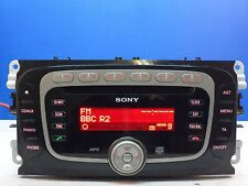 FORD 6000 SONY MP3 CD RADIO PLAYER CODE FOCUS MONDEO GALAXY SMAX