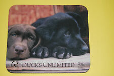 Ducks Unlimited Mousepad with Labrador Retriever Puppies