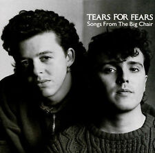 Tears for Fears - Songs from the Big Chair  (CD, Mar-1985, Island/Mercury)