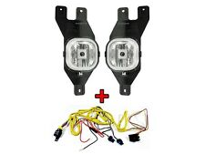 DEPO 2001-2004 Ford Superduty Replacement Fog Light Set + Wire Harnes