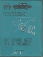 FORD CONSUL CLASSIC 315 & CAPRI CLASSIC 335 1961 - 1964 WORKSHOP MANUAL * VGC *