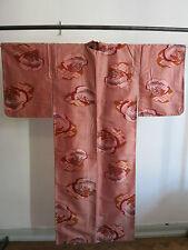 Kimono Meisen Ikat Seide  Japan 1920〜 Art Deco Nippon Samurai Geisha