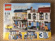 LEGO Creator Bike Shop & Café (31026) 1023 Pieces Brand New, Factory Sealed