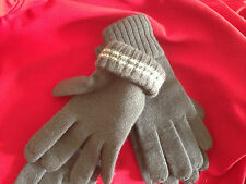 GERMAN ARMY GOVT. ISSUE WWII WOOL WINTER GLOVES WW2 ELITE MEDIUM LARGE