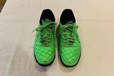 Used Green/Black Nike Tiempo Rio TF Trainers Size 7UK 41EUR