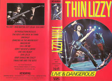 VHS Thin Lizzy - LIVE & DANGEROUS ENG