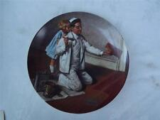 The Painter by Norman Rockwell Cabinet Plate - Box + Certificate - Knowles