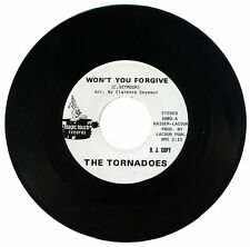 "TORNADOES  ""WON'T YOU FORGIVE""    KILLER NORTHERN SOUL   LISTEN!"