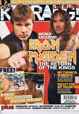 IRON MAIDEN / MY CHEMICAL ROMANCE  Kerrang no. 1066 23 July 2005