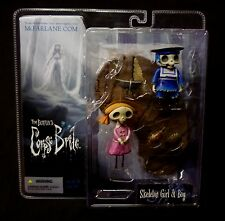 McFarlane Series 1 Corpse Bride Skeleton Boy and Girl Tim Burton Action Figure