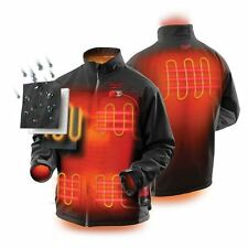 Milwaukee Heated Jacket M12HJBLACK6 12V Black Industrial Contractor Tradesman