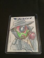 JUSTICE LEAGUE CRYPTOZOIC SANDMAN SKETCH BY JOHN OTTINGER