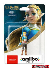 NEW - Zelda Amiibo Zelda Breath of the Wild Nintendo Switch Wii U Japan