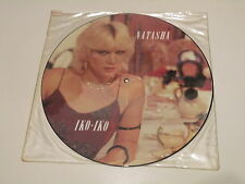 "NATASHA - IKO IKO - 12"" PICTURE DISC SEXY COVER - Towerbell Records - 45 RPM -"