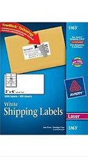 "50 AVERY 5163 2"" x 4"" SHIPPING/ADDRESS LABELS 10 PER SHEET 5 SHEETS"