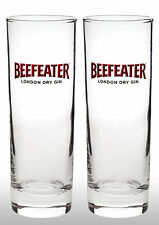 Beefeater Gin Glasses X2  New
