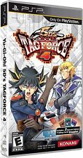 Yu-Gi-OH! English 5D's Tag Force 4 (PlayStation Portable, 2009) New but no cards