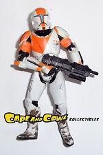 "Star Wars Republic Commando DELTA THREE-EIGHT BOSS Loose 3.75"" Figure Hasbro"
