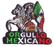 ORGULLO MEXICANO MEXICO EAGLE AGUILA DISTRITO FEDERAL DF CHARRO PARCHE PATCH