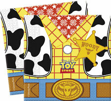 DISNEY TOY STORY BIRTHDAY PARTY 20 NAPKINS TABLE BOYS YOUNG WOODY BRIGHT YELLOW