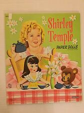 VINTAGE Paper Doll - Shirley Temple - Saalfield