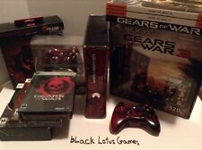 Massive Xbox 360 Gears of War Collector Lot 320GB Limited Edition Console