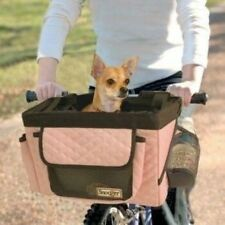 Snoozer Dog Pet Buddy Bike Bicycle Basket Carrier Pink