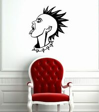 Wall Stickers Vinyl Decal Girl Punk Rock Music Subculture ig1518