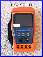"Stest-894 3.5"" LCD CCTV Security Camera Tester w/Multimeter PTZ 12V ALL IN 1 USA"