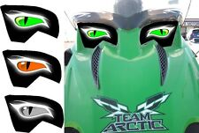 ARCTIC CAT 500 sno pro snopro chassis race sled HEADLIGHT DECAL STICKER 4