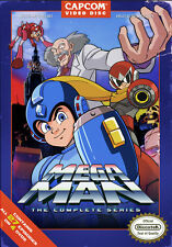 Mega Man Complete Tv Series - 4 DISC SET (DVD Used Very Good)