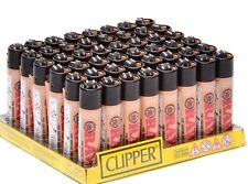48 Lighters Raw Style Full size Clipper Lighter Refillable 48 Pcs