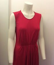 ISSA Red Viscose Jersey Evening Gown/ Maxi Dress Size 10/12 New with Tags