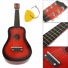 21 Inch 6 String Acoustic Guitar Beginners Practice Musical Instrument Kids