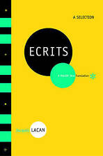 Jacques Lacan: ECRITS:  A Selection   - 9 of his major works  psychology
