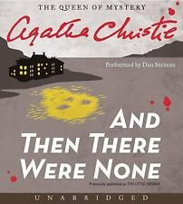 And Then There Were None by Agatha Christie (2013, CD, Unabridged)