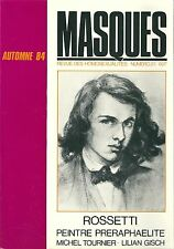 MASQUES 23 1984 HOMOSEXUALITE GAY LESBIENNE Rossetti Tournier Gisch Pierre Quint