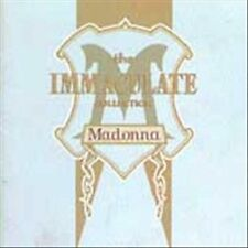 The Immaculate Collection by Madonna CD Holiday Lucky Star Borderline Virgin Hit
